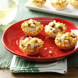 Gorgonzola Pear Tartlets Recipe