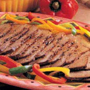 Roast Beef with Peppers Recipe