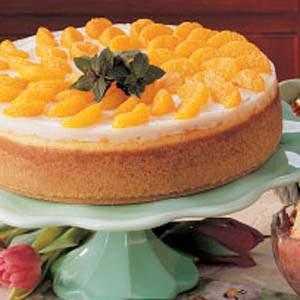 Orange Chocolate Cheesecake Recipe