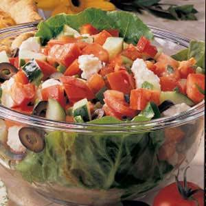 Greek Garden Salad Recipe