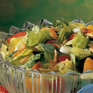 Berry-Mandarin Tossed Salad Recipe