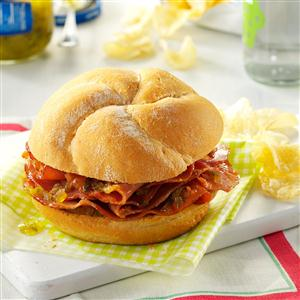 Hot Ham Sandwiches Recipe