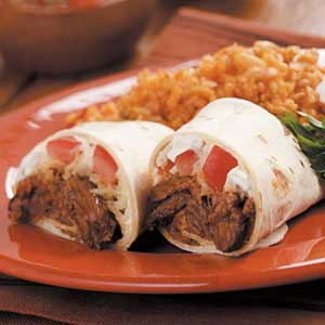 Steak Burritos Recipe
