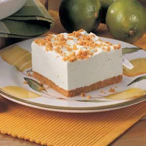 Lime Chiffon Dessert Recipe