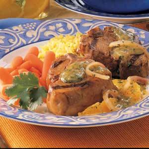 Southwestern Lamb Chops Recipe