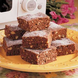 Microwave Brownies Recipe