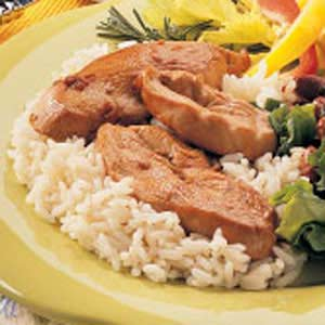Broiled Chicken Slices Recipe