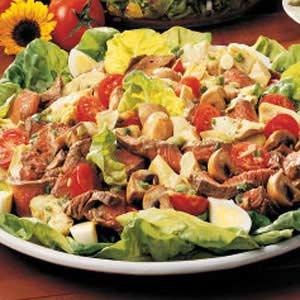 Artichoke Steak Salad Recipe