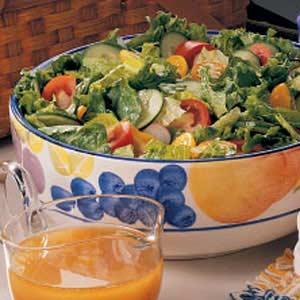 French Vinaigrette Salad Recipe