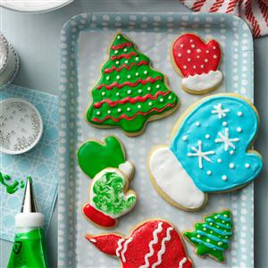 Holiday Cutout Cookies Recipe