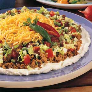 Taco Appetizer Platter Recipe