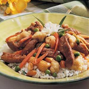 Pork Veggie Stir-Fry Recipe