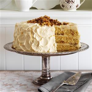 Maple Walnut Cake Recipe Taste of Home
