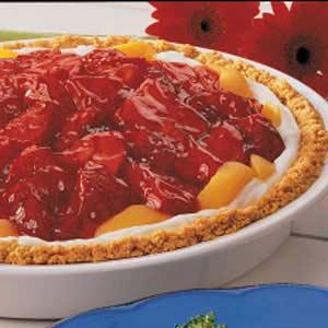 Peach Strawberry Pie Recipe