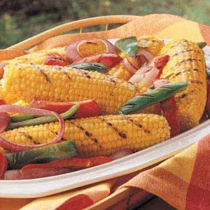 Grilled Corn and Peppers Recipe