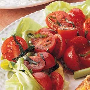 Basil Cherry Tomatoes Recipe