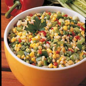 Crunchy Corn Medley Recipe