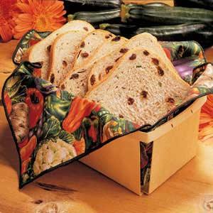 Zucchini Raisin Bread Recipe