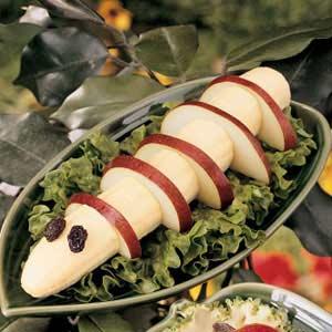 Banana-Pear Caterpillar Recipe