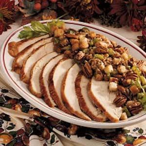 Turkey with Sausage Stuffing Recipe