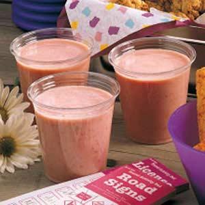 Strawberry Banana Yogurt Shakes Recipe