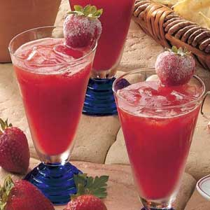 Summertime Strawberry Punch Recipe
