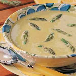 Chilled Asparagus Soup Recipe