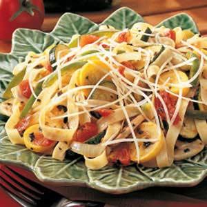 Summer Squash Pasta Primavera Recipe