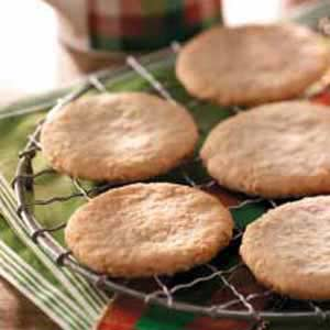 Almond Oatmeal Cutouts Recipe