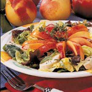 Nectarine Chicken Salad Recipe
