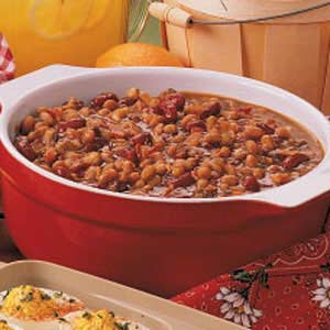 Big-Batch Baked Beans Recipe