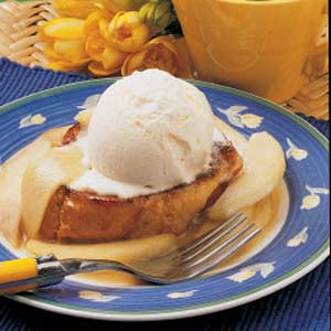Pear Sundae French Toast Recipe