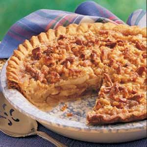 Caramel Pear Pie Recipe