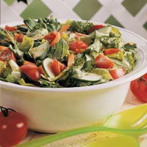 Tossed Italian Garden Salad Recipe