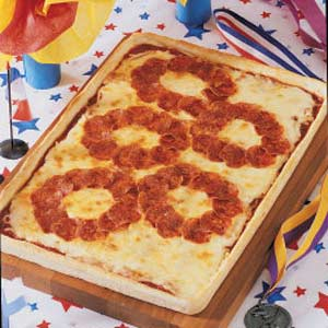 Olympic Rings Pizza Recipe