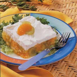 Fruited Lemon Gelatin Salad Recipe