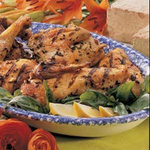 Herbed Chicken Quarters Recipe