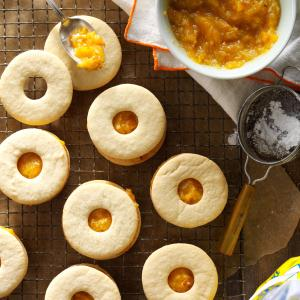 Apricot-Filled Cookies Recipe