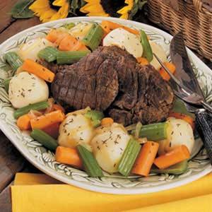 Venison Pot Roast with Vegetables Recipe