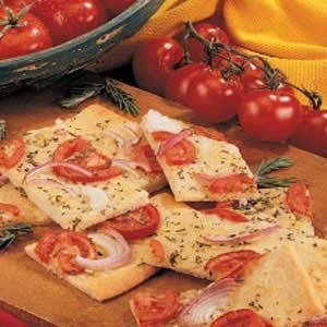 Tomato Rosemary Focaccia Recipe