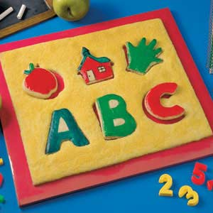 Back-to-School Cookie Puzzle Recipe
