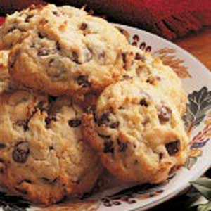 Coconut Chocolate Chip Cookies Recipe