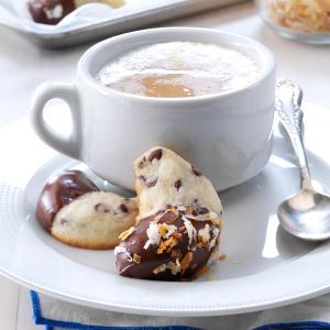 Mini-Chip Crescent Cookies Recipe