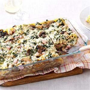 Chicken Marsala Lasagna Recipe