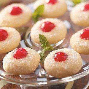 Sugared Cherry Jewels Recipe