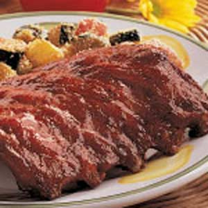 Thick 'n' Zesty Ribs Recipe