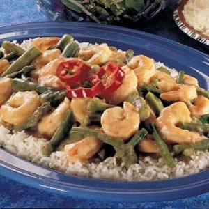 Baked Shrimp and Asparagus Recipe