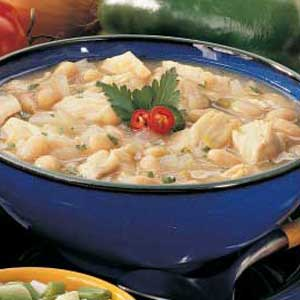 White Chili with Chicken Recipe