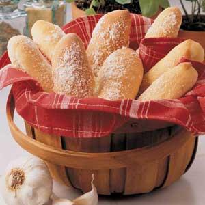 Soft Italian Breadsticks Recipe