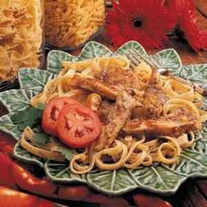 Herbed Chicken Fettuccine Recipe